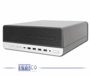 PC HP PRODESK 600 G4 SFF CORE i3-8300 8GB 128GB M.2 SSD OHNE ODD SFF WIN 10 PRO
