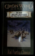 IRON WIND METALS 10-410 BEAR CHARIOT OF THE ICE LANDS NISB ( ral partha d&d )