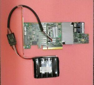 LSI MegaRaid SAS 9361-8i 1GB - LP PCIe-x8 12Gbps SAS RAID Controller + Battery