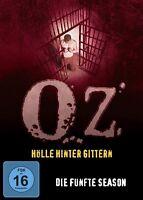 J.K.SIMMONS ERNIE HUDSON - OZ-HÖLLE HINTER GITTERN S5 3 DVD NEU