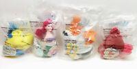 Little Mermaid ~ Disney / McDonalds 1997 ~ Complete Plush Set ~ Collectible Rare