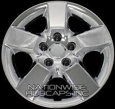 4 Chrome 16 Hub Caps Full Wheel Covers Rim Cap Lug Cover Hubs Fits Steel Wheels Fits Mustang