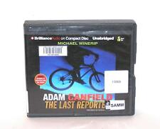BOOK/AUDIOBOOK CD Gr 7+ Michael Winerip Fiction ADAM CANFIELD THE LAST REPORTER