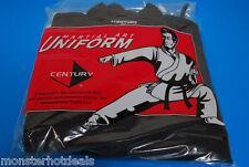 Karate Uniform SIZE 2 BLACK 6oz Martial Art Gi