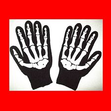 √NEW KNIT SKELETON GLOVES:STORAGE WARS-BARRY WEISS-LK BIKER:XMAS CHRISTMAS GIFT!