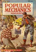 1949 Popular Mechanics February-Sled Dogs, Snake River