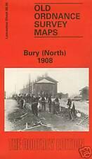 MAP OF BURY (NORTH) 1908