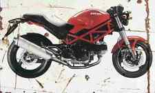 Ducati Monster695 2006 Aged Vintage SIGN A4 Retro