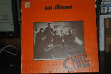 """INTI ILLIMANI CHILE  LP 12"""" 33 GIRI"""