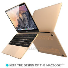 "2 in 1 Champange Gold Soft-Skin Case with Keyboard Cover 12""Macbook Retina A1534"