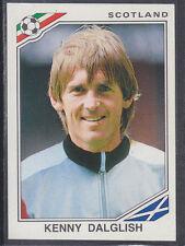 Panini - Mexico 86 World Cup - # 341 Kenny Dalglish - Scotland