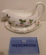 Wedgwood Strawberry - Salsiera Strawberry Wedgwood - Wedgwood Porcellana