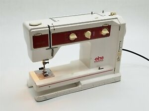Vintage Elna Carina Type 65 Electronic SU Sewing Machine Made in Switzerland