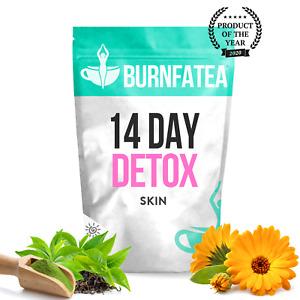 BURNFATEA TEATOX - 14 DAY SKIN DETOX TEA FOR CLEAR SKIN, WEIGHT LOSS, BURN FAT