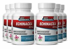 Lower Inflammation - Echinacea Powder 400mg - Echinacea Herb Capsules 6B