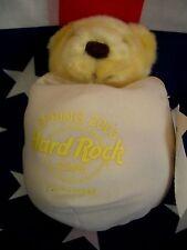 HRC Hard Rock Cafe Yokohama Spring 03 Easter Egg Bear 10`` LE Herrington Yellow
