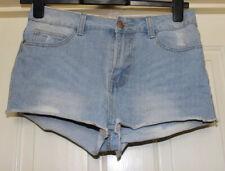 Denim Co Blue High Waist Denim Shorts Size 10