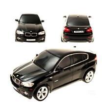 RC Funk ferngesteuerter BMW X6 mit Licht | schwarz silber rot | 1:24 Modellauto