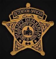 DENVER SHERIFF DEPARTMENT Denver Colorado old style 70/'s shoulder patch #3