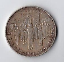 RARE MONNAIE DE 100 FRANCS ARGENT 1994 : LIBERATION DE PARIS @ BELLE QUALITE TOP