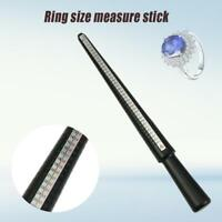 Finger Gauge Ring Sizing Sizer Stick US/EU Measure Jewellery Jewellers MandrelR