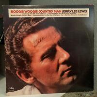 "JERRY LEE LEWIS - Boogie Woogie Country Man (SRM-1-1030)12"" Vinyl Record LP - EX"