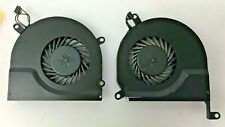 "OEM Apple 15"" MacBook PRO 15"" LEFT & RIGHT CPU Cooling Fan A1286 2010 2011"