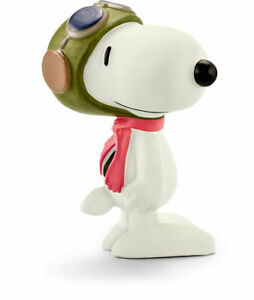 RETIRED SCHLEICH 22054 PEANUTS SNOOPY FLYING ACE WW1 CHARLES M SCHULZ NM + TAG!