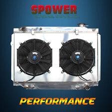 Aluminum Radiator + Fan Shroud For Toyota Landcruiser 80 Series Fj Fzj80R 93-97