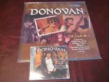 DONOVAN STORYTELLER  HITS 2 LP 331/3 & 45 Speed AUDIOPHILE 180 GRAM +SACD HYBRID