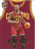 LeBron James Away Panini Complete 2016/17 NBA Basketball Card