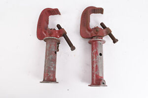 Century Stage Lighting C Clamp with 5 1/2 Inch Extension Lot of 2 V25