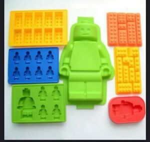 Silicone lego building blocks Ice Molds