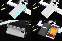 Luxury PU Leather Wallet Flip Case Stand Cover For Samsung Galaxy NOTE 3 N9000