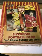 1998 Liverpool Football Club Collector Card Series Un-Opened Box by Futera