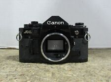 UNTESTED Canon Model A-1 Handheld Film Camera w/ NO 3.5mm Film or Lens Cover