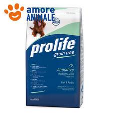 Prolife Dog Adult Sensitive Medium large Pesce e Patate 12 Kg
