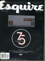 ESQUIRE Magazine 75th ANNIVERSARY 2008 10/08 FIRST EINK E-INK MOVING COVER