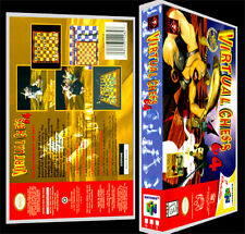 Virtual Chess 64 - N64 Reproduction Art Case/Box No Game.