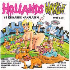 HOLLANDS HAKKUH 18TR CD 1993 HARDCORE / GABBER