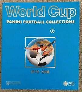 Panini World Cup Collection 1970 to 2018 - Official reprinted as originals album