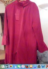 Manteau rouge vif laine demi-saison  Et Dieu créa la femme