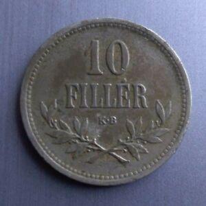 10 filler Hungary 1915, VF