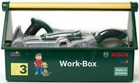 Klein BOSCH WORK BOX Child'S Pretend Play Tools Diy Toy BN