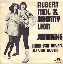 "ALBERT MOL & JOHNNY LION - Janneke (1970 VINYL SINGLE 7"")"