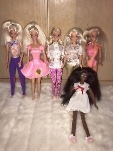 Vintage Barbie Bundle, Job Lot Dolls, Collection 1990s Pet Doctor Christie