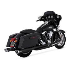 Vance & Hines Dresser Duals Exhaust Manifold Black, for Harley Davidson Touring