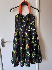 Heart & Roses Women's Knee Length Dress Size M, Evening, Vintage  ***Blu108***
