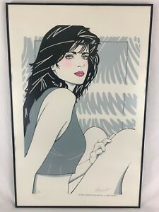 1987 RICHARD FOHT Signed Print Numbered Limited To 250 In Style Of Patrick Nagel
