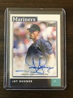 2020 Topps Archives Snapshots Jay Buhner Autograph Seattle Mariners